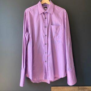 Paul Smith London Purple 100% Cotton dress shirt